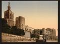 Pope's Castle, Avignon, Provence, France-LCCN2001698586.tif