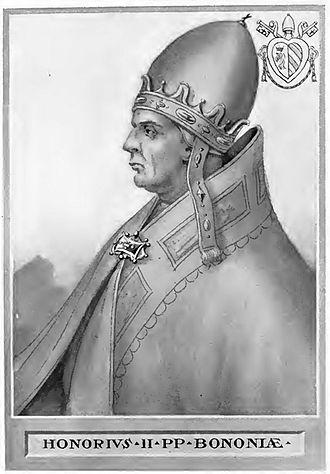 Pope Honorius II - Image: Pope Honorius II
