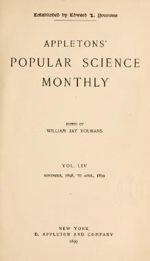 Popular Science Monthly Volume 54.djvu
