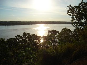 Porto Velho - Amazon rainforest and Madeira River.