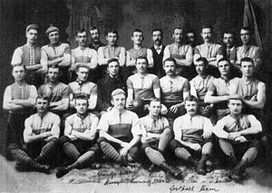 1890 Championship of Australia - The Port Adelaide FC, champions.