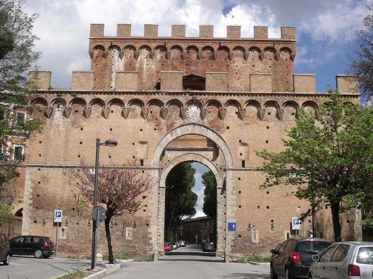 Porta Romana Siena Wikipedia