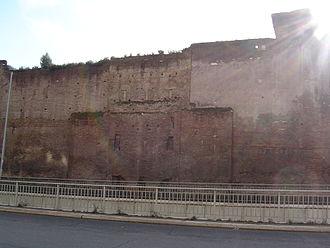 Castra Praetoria - Remains of the Praetorian Gate