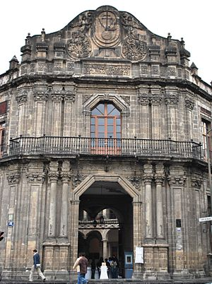 Palace of the Inquisition - Main portal
