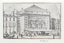 Th tre de la porte saint martin wikip dia - Plan salle theatre porte saint martin ...