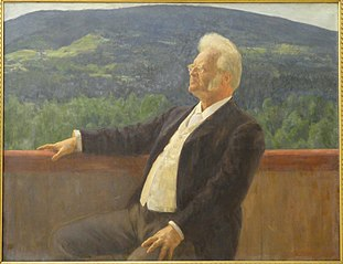 Portrait of Bjørnstjerne Bjørnson