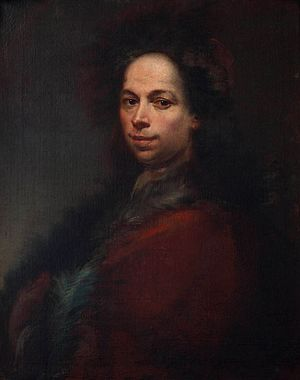 Francesco Conti (painter) - Self-portrait of Francesco Conti