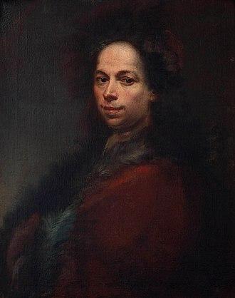 Francesco Conti (painter) - Self-portrait of Francesco Conti