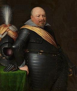 Portrait of Nicolaas Schmelzing by Jan van Ravesteyn and workshop Nationaal Militair Museum MH419