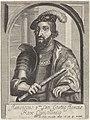 Portret van Frans I, koning van Frankrijk Theatrum pontificum, imperatorum, regum, ducum (serietitel), RP-P-1909-539.jpg