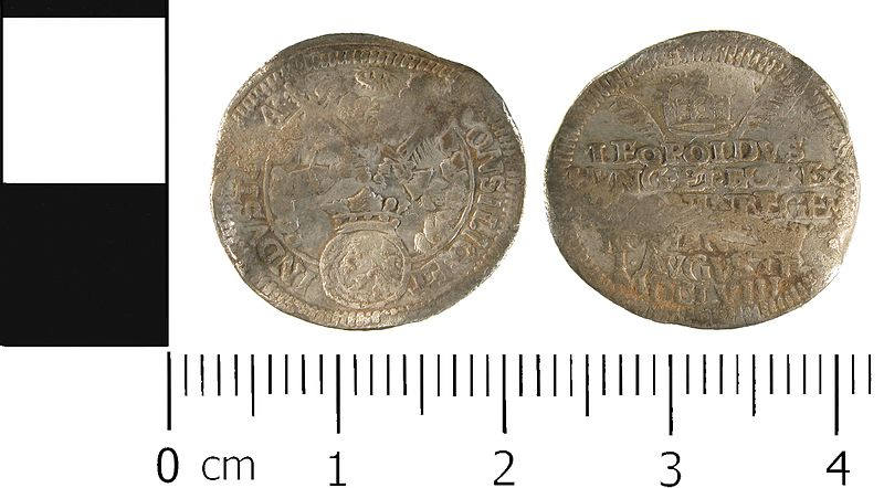 File:Post Medieval, Commemorative medal of the Coronation of Leopold I, Holy Roman Emperor (FindID 623437).jpg