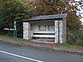 Postbridge, The bus shelter - geograph.org.uk - 1026531.jpg