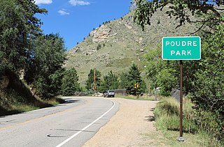 Poudre Park, Colorado human settlement in United States of America
