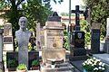 Praha, Vyšehradský hřbitov, Josef Bican, Stanislav Sucharda, Jára Kohout, Mirko Očadlík.jpg