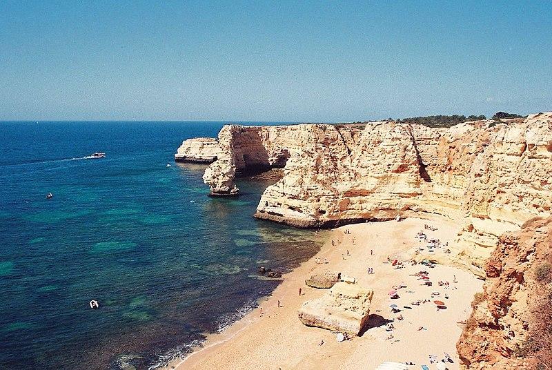 Image:Praia da Marinha - Lagoa.jpg