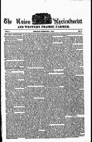 Prairie Farmer - Prairie Farmer, February 1 1841