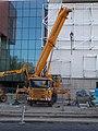 Prangl crane truck, 2020 Kelenföld.jpg