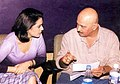 Preity Zinta and Rakesh Roshan at the Mahurat of Koi... Mil Gaya.jpg