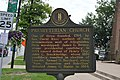 Presbyterian Church historical marker in Danville.jpg