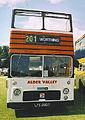 Preserved Alder Valley NBC open top Bristol VR ECW LFS 296F Alton Bus Rally Hampshire July 2003.jpg