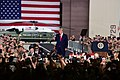 President Donald Trump addresses service members stationed during his visit to Osan Air Base, Republic of Korea.jpg