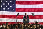 President Donald Trump speaks to U.S. service members overseas 170527-M-GL218-250.jpg