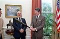 President Ronald Reagan and Tommy Lasorda.jpg
