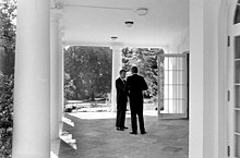 President and Attorney General confer, 03 October 1962.jpg