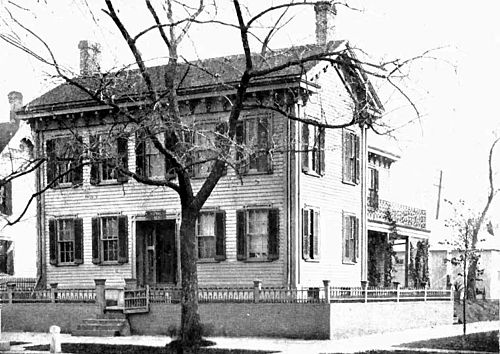Presidents Abraham Lincoln Springfield home.jpg
