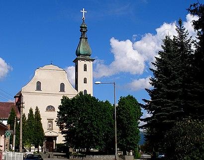 How to get to Nižná Šebastová with public transit - About the place
