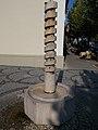 Press-fountain by Zoltán Szabó László in 2007. - Blaha Street, Balatonfüred.JPG