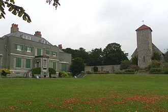 Preston Manor, Brighton - St Peter's Church and Preston Manor have stood together since the 13th century.