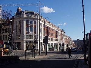 The Headrow - The former Odeon cinema, as a Primark store in 2006
