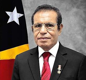 Prime Minister of East Timor - Image: Prime Minister of Timor Leste Taur Matan Ruak