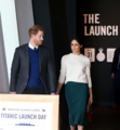 Prince Harry and Ms. Markle visit Titanic Belfast (40973154801).png