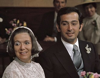 Princess Christina of the Netherlands - Princess Christina and Jorge Guillermo in 1975