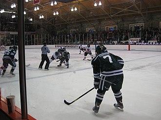 Hobey Baker Memorial Rink - Image: Princeton Dartmouth 2013