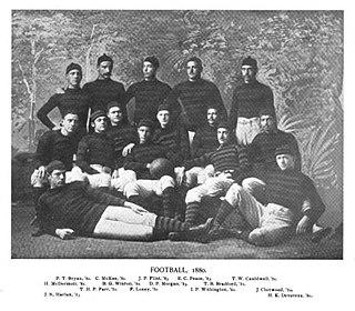 1880 Princeton Tigers football team American college football season