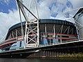 Principality Stadium, Cardiff from River Taff, 8.14.jpg