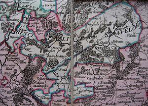 Principality of Stavelot-Malmedy - Territory of Stavelot-Malmedy