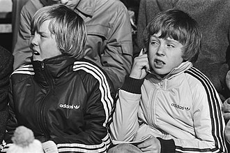 Willem-Alexander of the Netherlands - Prince Willem-Alexander (left) at age 14 and his brother Friso in 1982