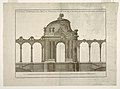 "Print, Garden Pavilion and Latticed Gallery with an Alternative Design plate 365 from the publication ""L'Art de Treillageur ou menuiserie des jardins"", 1775 (CH 18307681).jpg"