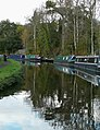 Private canal moorings at Hinksford, Staffordshire - geograph.org.uk - 1023814.jpg