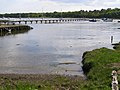 Private jetty at Gilbury, Beaulieu River - geograph.org.uk - 178297.jpg