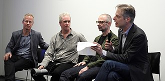 Tony Oursler - Tony Oursler (second from left)