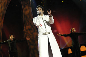 Macedonia in the Eurovision Song Contest - Image: Projeski Eurovision 2004