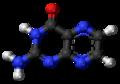 Pterin molecule ball.png