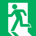PublicInformationSymbol EmergencyExit.png