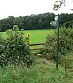 Public footpaths to Foxton and Gumley - geograph.org.uk - 544376.jpg