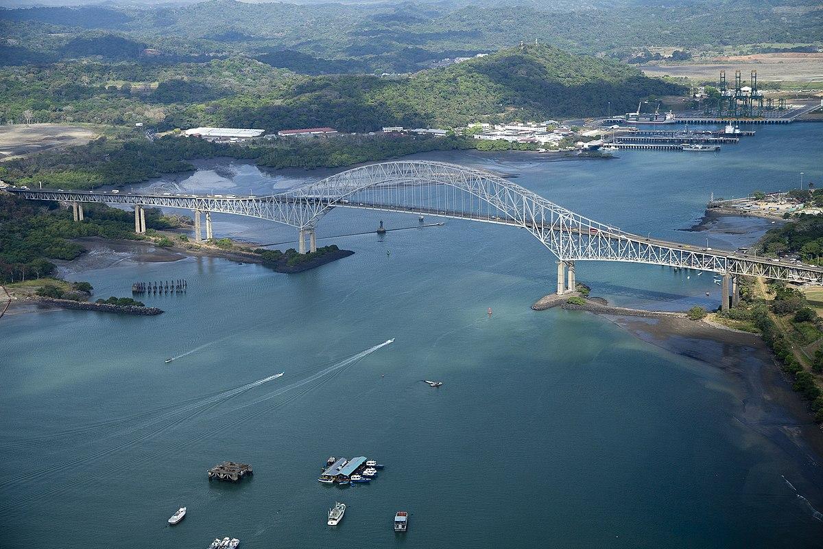 Puente De Las Américas Wikipedia La Enciclopedia Libre